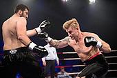 Danish Fight Night i Ceres Arena Aarhus <br /> Pierre Madsen (Danmark) vs. Irakli Gvenetadze (Georgien)