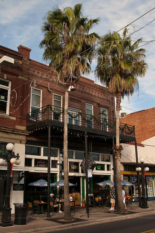 The Green Iguana bar and restaurant, Ybor City, Tampa, Florida, USA.
