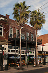 The Green Iguana bar and restaurant, Ybor City, Tampa, Florida, USA.