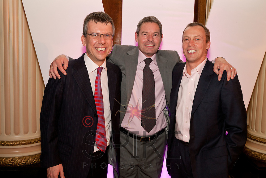 Pictured from left, Deloitte's David Hall, Peter Hipperson and Mark Doleman