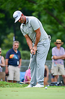 Scott Piercy (USA) watches his putt on 3 during round 3 of the Dean &amp; Deluca Invitational, at The Colonial, Ft. Worth, Texas, USA. 5/27/2017.<br /> Picture: Golffile | Ken Murray<br /> <br /> <br /> All photo usage must carry mandatory copyright credit (&copy; Golffile | Ken Murray)