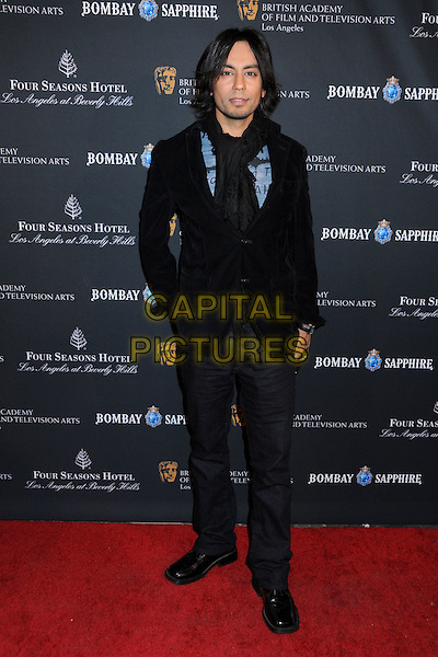 VIK SAHAY .17th Annual BAFTA Los Angeles Awards Season Tea Party held at the Four Seasons Hotel, Beverly Hills, California, USA, 15th January 2011..full length jacket black scarf.CAP/ADM/BP.©Byron Purvis/AdMedia/Capital Pictures.