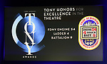 Tony Honors for Excellence in the Theatre for FDNY Engine 54, Ladder 4, Battalion 9 during The 73rd Annual Tony Awards Nominations Announcement on April 30, 2019 in New York City.