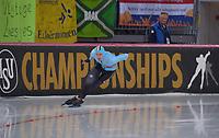 SPEEDSKATING: HAMAR: Vikingskipet, 28-02-2020, ISU World Speed Skating Championships, Sprint, 500m Men, Mathias Vosté (BEL), ©photo Martin de Jong