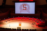 STANFORD, CA.,--OCTOBER 11, 2014---2014 Stanford Athletics Hall of Fame Induction Ceremony at the Stanford Bing Concert Hall on Stanford University Campus.