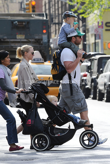 WWW.ACEPIXS.COM . . . . . ....April 15 2010, New York City....Actor Liev Schreiber and his wife actress Naomi Watts take their children Sasha and Samuel for a walk around the East Village on April 15 2010 in New York City....Please byline: KRISTIN CALLAHAN - ACEPIXS.COM.. . . . . . ..Ace Pictures, Inc:  ..(212) 243-8787 or (646) 679 0430..e-mail: picturedesk@acepixs.com..web: http://www.acepixs.com