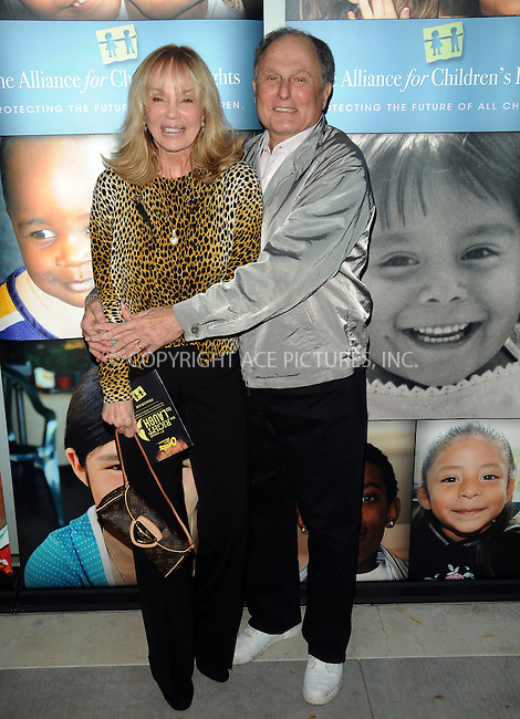 WWW.ACEPIXS.COM . . . . .  ....April 27 2011, Los Angles....Budd Friedman (R) and his wife arriving at the the Alliance For Children's Rights 1st annual 'Right To Laugh' comedy event at  the Catalina Jazz Club on April 27, 2011 in Hollywood, California.....Please byline: PETER WEST - ACE PICTURES.... *** ***..Ace Pictures, Inc:  ..Philip Vaughan (212) 243-8787 or (646) 679 0430..e-mail: info@acepixs.com..web: http://www.acepixs.com