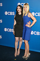 Kat Dennings and Beth Behrs at the 2012 CBS Upfront at The Tent at Lincoln Center on May 16, 2012 in New York City. © RW/MediaPunch Inc.