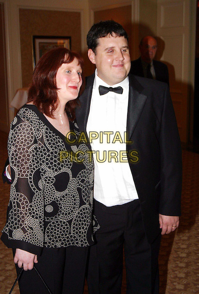 PETER KAY & WIFE.PETER KAYE.Keith Duffy's birthday party, Four Seasons Hotel, Dublin.www.capitalpictures.com.sales@capitalpictures.com.© Capital Pictures