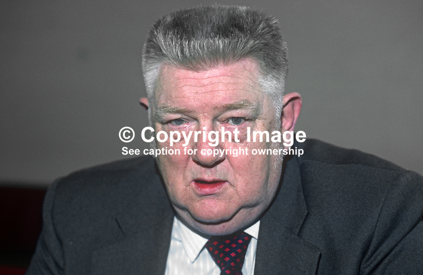 Jimmy Graham, AUEW, trade unionist, communist, N Ireland, 19820500053JG1.<br /> <br /> Copyright Image from Victor Patterson,<br /> 54 Dorchester Park, <br /> Belfast, UK, BT9 6RJ<br /> <br /> t1: +44 28 9066 1296 (from Rep of Ireland 048 9066 1296)<br /> t2: +44 28 9002 2446 (from Rep of Ireland 048 9002 2446)<br /> <br /> m: +44 7802 353836<br /> <br /> e: victorpatterson@me.com<br /> www.victorpatterson.com<br /> <br /> Please see my Terms and Conditions of Use at www.victorpatterson.com. It is IMPORTANT that you familiarise yourself with them.<br /> <br /> Images used on the Internet must be visibly watermarked i.e. &copy; Victor Patterson<br /> within the body of the image and copyright metadata must not be deleted. Images <br /> used on the Internet have a size restriction of 4kbs and will be chargeable at current<br />  NUJ rates unless agreed otherwise.<br /> <br /> This image is only available for the use of the download recipient i.e. television station, newspaper, magazine, book publisher, etc, and must not be passed on to any third <br /> party. It is also downloaded on condition that each and every usage is notified within 7 days to victorpatterson@me.com<br /> <br /> The right of Victor Patterson to be identified as the author is asserted in accordance with The Copyright Designs And Patents Act (1988). All moral rights are asserted.