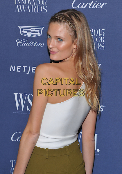 New York,NY-November 4: Constance Jablonski attend the WSJ. Magazine 2015 Innovator Awards at the Museum of Modern Art on November 4, 2015 in New York City. <br /> CAP/MPI/STV<br /> &copy;STV/MPI/Capital Pictures