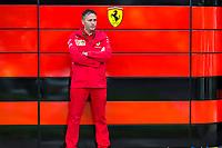 13th March 2020; Melbourne Grand Prix Circuit, Melbourne, Victoria, Australia; Formula One, Australian Grand Prix, Practice Day; Ferrari garage
