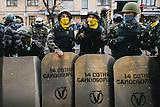 Alltag der Selbstverteidigungseinheit auf dem Majdan 2013/14