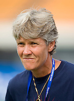 Pia Sundhage. The USWNT defeated, 2-0, at the Suwon Sports Center in Suwon, South Korea.