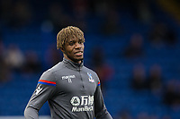 Crystal Palace's Wilfried Zaha during the pre-match warm-up <br /> <br /> Photographer Craig Mercer/CameraSport<br /> <br /> The Premier League - Chelsea v Crystal Palace - Saturday 10th March 2018 - Stamford Bridge - London<br /> <br /> World Copyright &copy; 2018 CameraSport. All rights reserved. 43 Linden Ave. Countesthorpe. Leicester. England. LE8 5PG - Tel: +44 (0) 116 277 4147 - admin@camerasport.com - www.camerasport.com