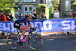 Chloe Dygert (USA) chases in 2nd place on the first circuit of Harrogate during the Women Elite Road Race of the UCI World Championships 2019 running 149.4km from Bradford to Harrogate, England. 28th September 2019.<br /> Picture: Seamus Yore | Cyclefile<br /> <br /> All photos usage must carry mandatory copyright credit (© Cyclefile | Seamus Yore)