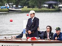 Henley Royal Regatta, Henley on Thames, Oxfordshire, 28 June - 2 July 2017.  Wednesday  09:13:18   28/06/2017  [Mandatory Credit/Intersport Images]<br /> <br /> Rowing, Henley Reach, Henley Royal Regatta.<br /> <br /> G W Hammond, Esq. Umpire