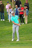 Nacho Elvira (ESP) on the 1st fairway during Round 4 of the Open de Espana 2018 at Centro Nacional de Golf on Sunday 15th April 2018.<br /> Picture:  Thos Caffrey / www.golffile.ie<br /> <br /> All photo usage must carry mandatory copyright credit (&copy; Golffile | Thos Caffrey)