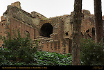 Aqua Claudia Reservoir for Thermae Severiana Palatine Hill Rome