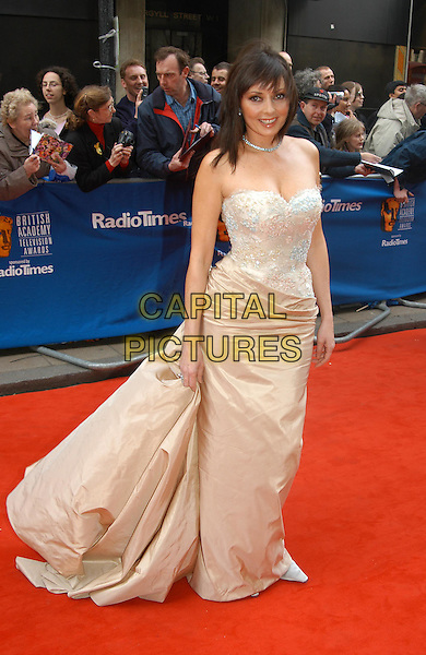 CAROL VORDERMAN.The British Academy Television Awards - BAFTAS - at London Palladium.www.capitalpictures.com.sales@capitalpictures.com.©Capital Pictures