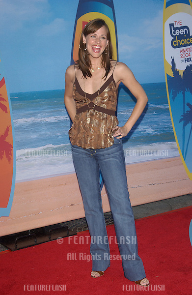 JENNIFER GARNER at the 2004 Teen Choice Awards at Universal Studios, Hollywood..August 8, 2004