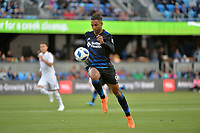 San Jose, CA - Saturday June 09, 2018: Danny Hoesen during a Major League Soccer (MLS) match between the San Jose Earthquakes and Los Angeles Football Club at Avaya Stadium.