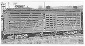 RGS stock card #7303 in Durango yard.<br /> RGS  Durango, CO  Taken by Maxwell, John W. - 3/19/1950
