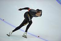 SCHAATSEN: HEERENVEEN: IJsstadion Thialf, 10-11-2012, KPN NK afstanden, Seizoen 2012-2013, 1500m Heren, Nederlands kampioen, Kjeld Nuis, ©foto Martin de Jong