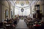 Concerto del Coro La Rupe di Quincinetto per Mito Fringe 2011, nella chiesa di San Grato nel borgo dei Lavandai