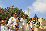 Feast of the Transfiguration at the Franciscan Church of the Transfiguration on Mount Tabor