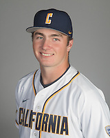 BERKELEY, CA - October 14, 2016: Max Flower Cal Baseball Portraits