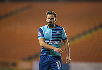 Sam Wood of Wycombe Wanderers during the The Checkatrade Trophy match between Blackpool and Wycombe Wanderers at Bloomfield Road, Blackpool, England on 10 January 2017. Photo by Andy Rowland / PRiME Media Images.