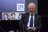 London, 25/11/2014. Today, LSE (London School of Economics) Department of Law presented a public lecture called &quot;In Conversation with the Lord Chief Justice&quot; hosted by Lord Thomas of Cwmgiedd (Roger John Laugharne Thomas, Baron Thomas of Cwmgiedd Kt. PC is the Lord Chief Justice of England and Wales; he is the former President of the Queen's Bench Division, from 2011 to 2013; ...<br /> <br /> For more pictures on this event click here: &lt;a href= &quot; http://bit.ly/1vidIxt&quot;&gt; http://bit.ly/1vidIxt&lt;/a&gt;