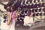 Uriah Heep, Mick Box, Pete Goalby, Castle Donnington Monsters of Rock 1982 Donnington 1982