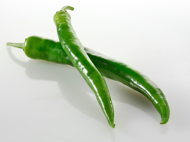 Green chili uncut