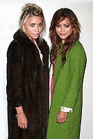 MARY-KATE OLSEN AND ASHLEY OLSEN 2004<br /> AT OLYMPUS FASHION WEEK: MARC JACOBS SPRING 2005 COLLECTION AT PIER 54 IN NEW YORK CITY <br /> Photo By John Barrett/PHOTOlink