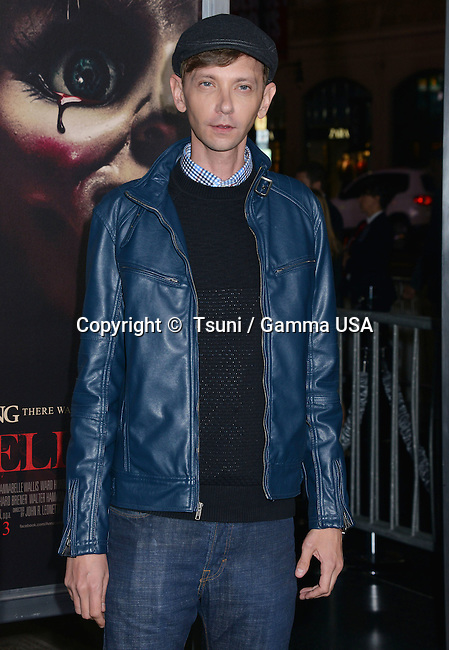 DJ Qualls  737 at the Annabelle Premiere at the TCL Chinese Theatre in Los Angeles.