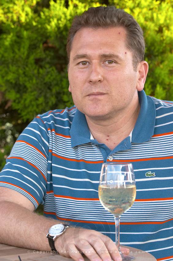 Angelos Iatridis, owner winemaker. Alpha Estate Winery, Amyndeon, Macedonia, Greece