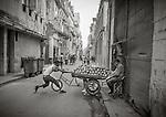 Havana, Cuba: Street scenes in Old Havana