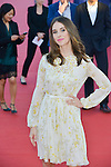 Actress Alison Brie attends the red carpet during the 41st Deauville American Film Festival on September 6, 2015 in Deauville, France