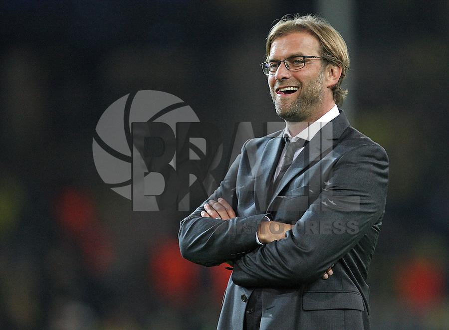 Football: Champions League, BVB Borussia Dortmund, Dortmund, 18/9/12<br /> coach Juergen Klopp<br /> ©pixathlon