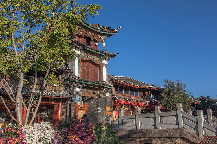 Dongba Palace is located in the heart of Lijiang's old town - Yunnan province