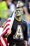PHILADELPHIA, PA. - DEC 12 2015: An Army fan looks on during the Army Navy game at Lincoln Financial Field Philadelphia, PA. (Photo by Phil Peters/Media Images International)