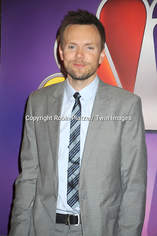 Joel McHale attends the NBC Upfront Presentation of 2012-2013 Season at Radio City Music Hall on May 14, 2012 in New York City.