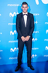 Lucas Hernandez attends to blue carpet of presentation of new schedule of Movistar+ at Queen Sofia Museum in Madrid, Spain. September 12, 2018. (ALTERPHOTOS/Borja B.Hojas)