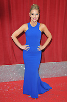 Stephanie Waring at the British Soap Awards 2018, Hackney Town Hall, Mare Street, London, England, UK, on Saturday 02 June 2018.<br /> CAP/CAN<br /> &copy;CAN/Capital Pictures