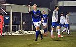 2018-03-03 / Voetbal / Seizoen 2017-2018 / Nijlen - Kampenhout / Yannick Verstraeten scoorde de 1-0 voor Nijlen.<br /> <br /> ,Foto: Mpics.be