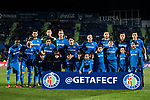 Players of Getafe CF pose for a photo prior to the La Liga 2017-18 match between Getafe CF and Malaga CF at Coliseum Alfonso Perez on 12 January 2018 in Getafe, Spain. Photo by Diego Gonzalez / Power Sport Images