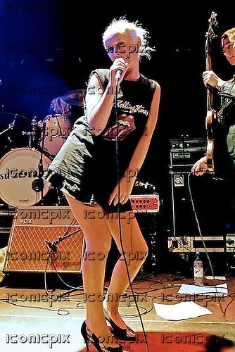 Racine - vocalist Wendy James (ex Transvision Vamp) performing live with her new band Racine at the Academy Islington, London UK - 22 Jul 2007.  Photo credit: George Chin/IconicPix