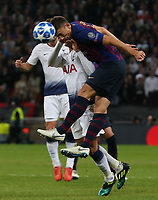 Sergio Busquets of FC Barcelona  during Tottenham Hotspur vs FC Barcelona, UEFA Champions League Football at Wembley Stadium on 3rd October 2018